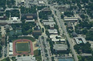 Emporia State from sky