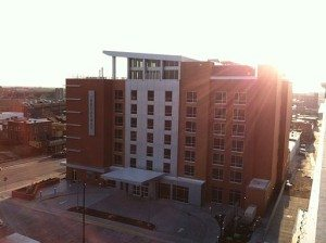 The_broadway_hotel_and_the_sun_Columbia,_Missouri