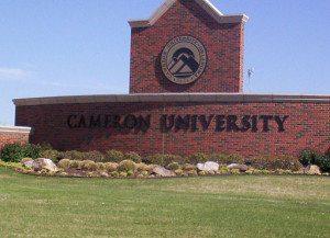 Cameron_university_sign