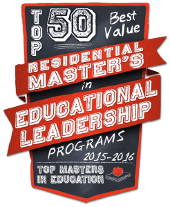 Top 50 Best Value Residential Masters in Educational Leadership Programs