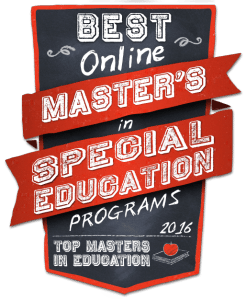 Best Online Master's in Special Education Programs 2016