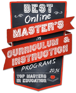 Best Online Masters In Curriculum and Instruction 2016