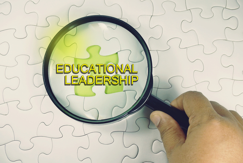 What is the difference between online and on-campus Master's in Educational Leadership degrees?
